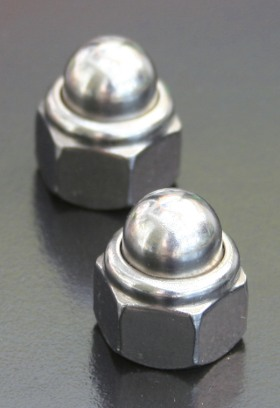 A2 Dome Nyloc Nuts (DIN 986) Metric