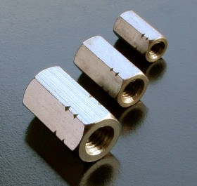 A2 Studding Connector Nuts (DIN 6334) Metric