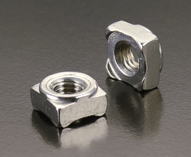 A2 Square Weld Nuts (DIN 928) Metric