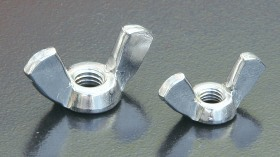 A2 Wing Nuts (DIN 315) Metric