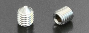 A2 Cone Point Grub Screws (DIN 914) M6