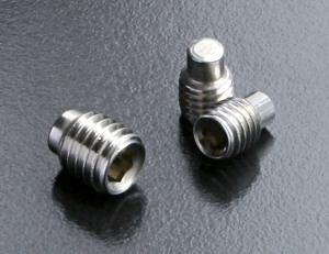 A2 Dog Point Grub Screws (DIN 915) M3
