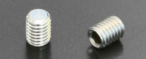 A2 Flat Point Grub Screws (DIN 913) M8