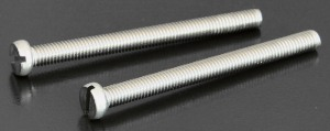 A2 Slotted Cheesehead Screws (DIN 84) M2.5