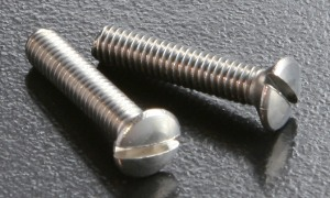 A2 Slotted Raised C/sunk Screws (DIN 964) M6