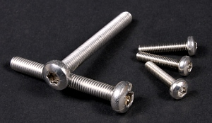 A2 Torx (Star) Pan Screws (DIN 7985) M2