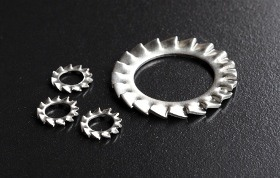 A2 Shakeproof (Ext.) Washers (DIN 6798A) Metric