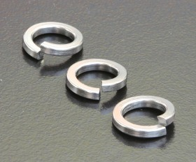 A2 Spring Washers - Square Section (DIN 7980) Metric