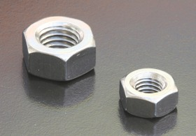 A4-80 Hex Nuts (DIN 934) Metric