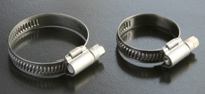 Hose Clips A4 Stainless 9mm Band DIN 3017