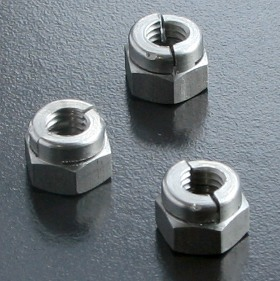 A4 Aerotight All Metal Locking Nuts Metric