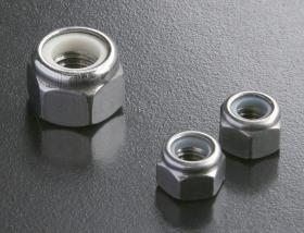 A4 Hex Nyloc Nuts (DIN 982) Metric
