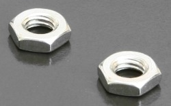 A4 Hex Half Nuts (DIN 439) Metric