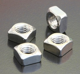 A4 Square Nuts (DIN 557) Metric