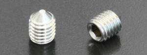 A4 Cone Point Grub Screws (DIN 914) M8