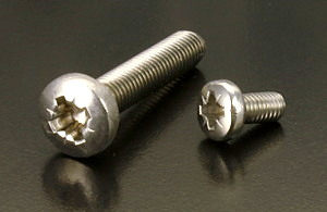 A4 Pozidriv Pan Head Screws (DIN 7985Z) M2.5