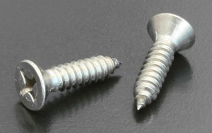 A4 No.2 Self Tapping Screws Phillips C/sunk Type AB