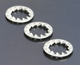 A4 Shakeproof (Int.) Washers (DIN 6798J) Metric