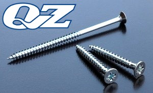 BZP 3.5mm Chipboard Screws QZ Pozidriv Countersunk