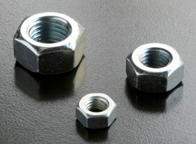 BZP 5/16inch UNF Nuts