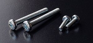 BZP Pozidriv Pan Head Screws (DIN 7985Z) M6