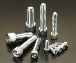 BZP 4-40 UNC Socket Head Cap Screws