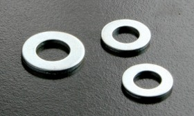 BZP Form A Washers (DIN 125) Metric