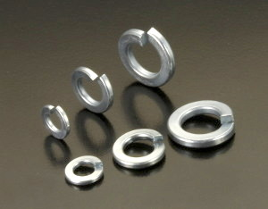 BZP Imperial Spring Washers (Rectangular)
