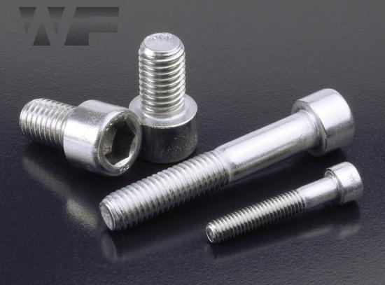 Socket Head Cap Screws ISO 4762 (DIN 912) M10x1 25 in A4-80
