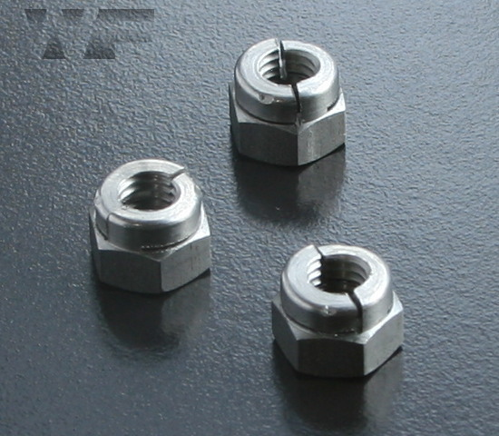 Aerotight All Metal Locking Nuts in A2 image