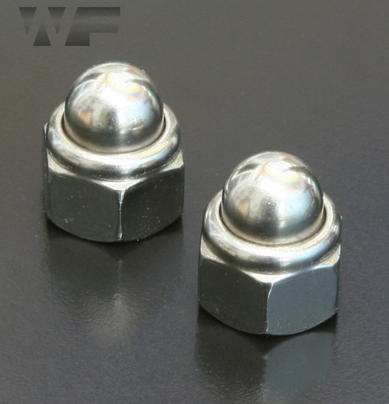 Self Locking Nut >> Dome Nyloc Nuts DIN 986 in A2 Stainless Steel - Westfield ...