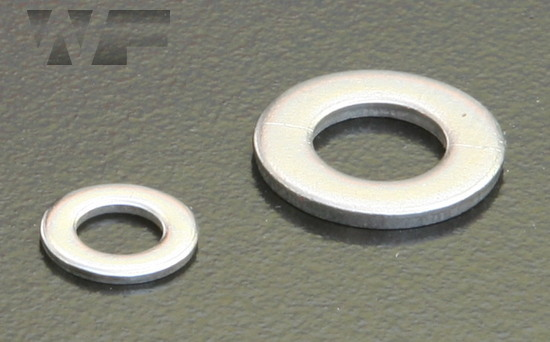 Form A Washers ISO 7089 non chamfer & 7090 chamfered (DIN 125A) in A2 image