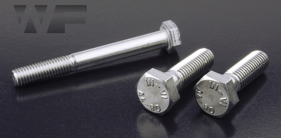 Hex Head Bolts ISO 4014 (DIN 931) in A4-80 image