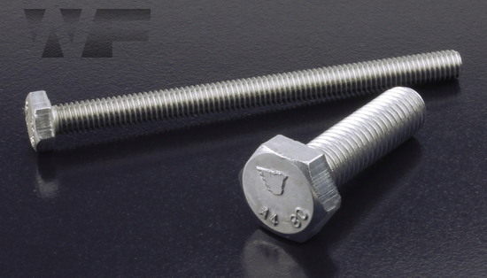 Hex Head Setscrews ISO 4017 (DIN 933) in A4-80 image