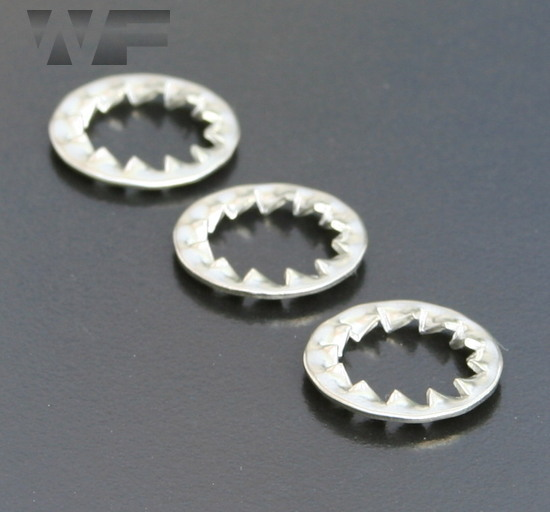Internal Serrated Lock Washers DIN6798 in A4 image