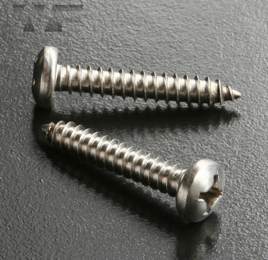 Phillips Pan Head Tapping Screws Type C (AB) ISO 7049 (DIN 7981H) in A2 image