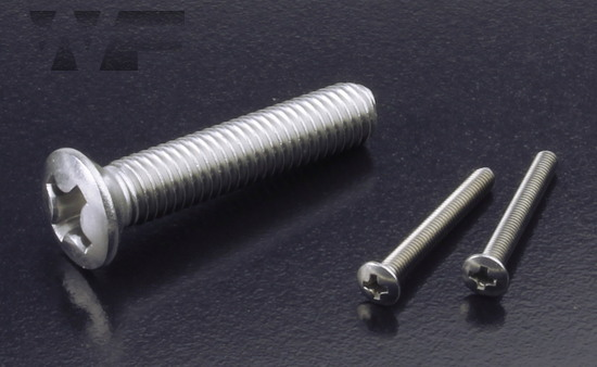 Phillips Raised Csk Machine Screws ISO 7047 (DIN 966H) in A2 image