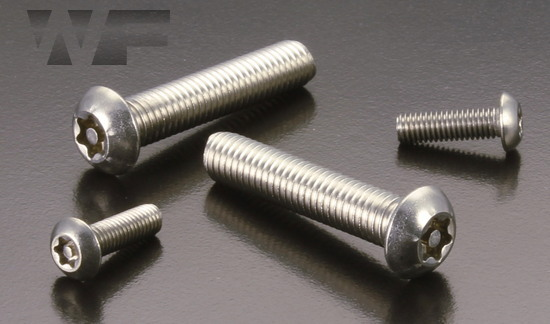 Pin Torx Button Screws in A2 image
