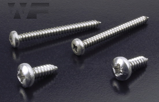 Pozi Pan Tapping Screw ISO 7049 (DIN 7981Z) in A4 image