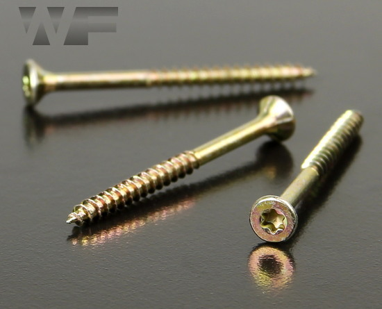 QZ Torx Csk Head Chipboard Screws in YZP image