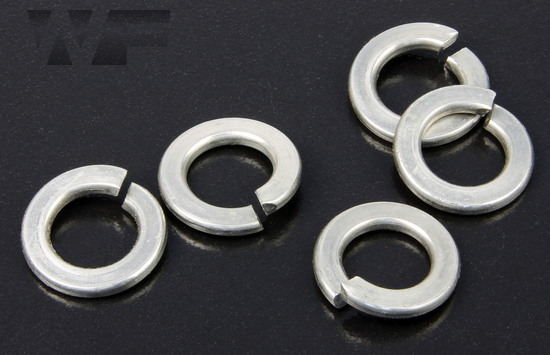 Rectangular Section Spring Washers DIN 127 in Duplex image