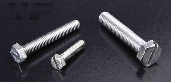 Slotted Hex Head Setscrews (DIN 933) in A2 image