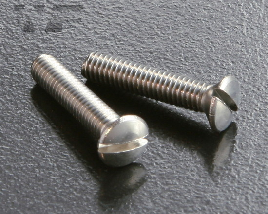 Slotted Raised Csk Machine Screws ISO 2010 (DIN 964) in A2 image