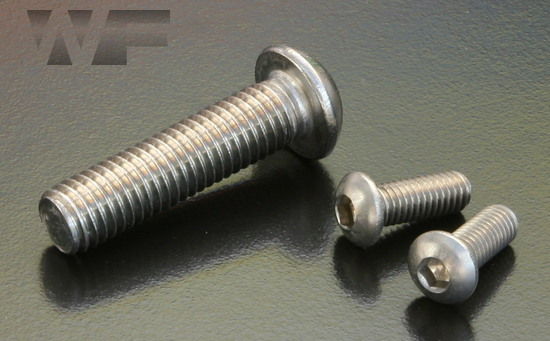 Socket Head Button Screws ISO 7380 part 1 in A2 image