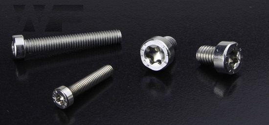 Torx Cap Screws With Low Head ISO 14580 (sim. DIN 7984) in A2 image