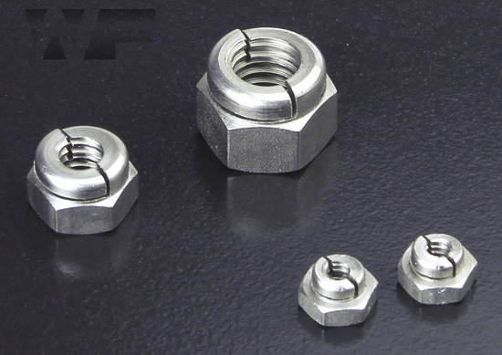 UNC Aerotight All Metal Locking Nuts in A2 image