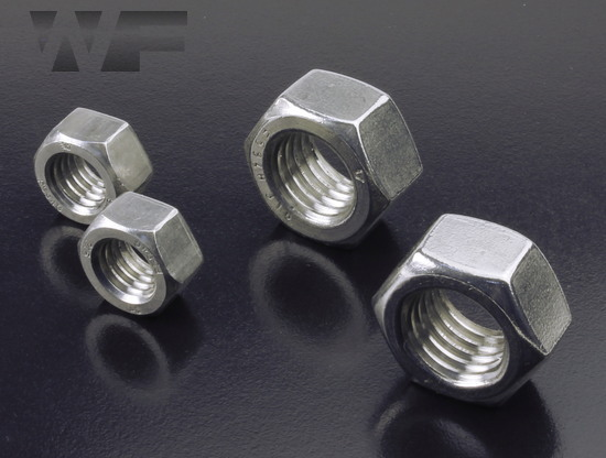 UNC Full Hex Nuts ASME B18. 2. 2 / B18. 6.3 in A4 image