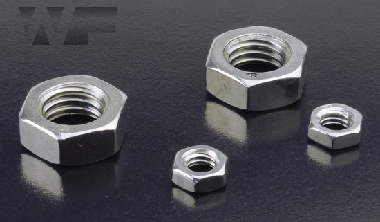 UNC Half Nuts (Lock Nut) ASME B18. 2.2 in A2 image