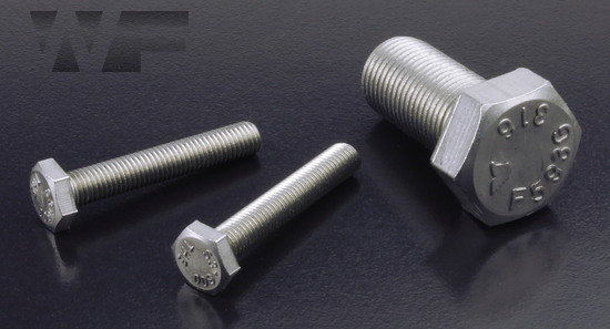 Image of UNF Hex Head Setscrews ASME B18.2.1 in A4 image