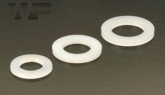 Washer for Cheese Head Screws ISO 7092 (DIN 433) in Nylon image